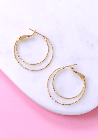 Sabi Gold Hoop Earrings
