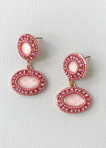Rose Sherbet Earrings