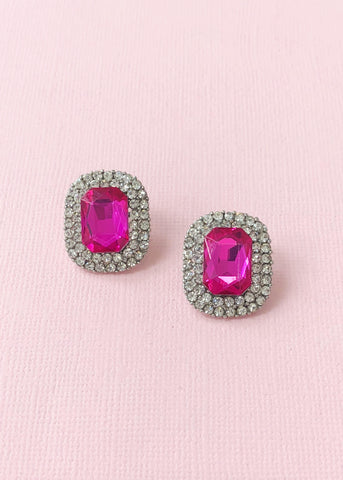 Barbie Pink Stud Earrings