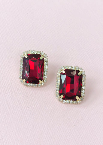 Ruby Nights Earrings