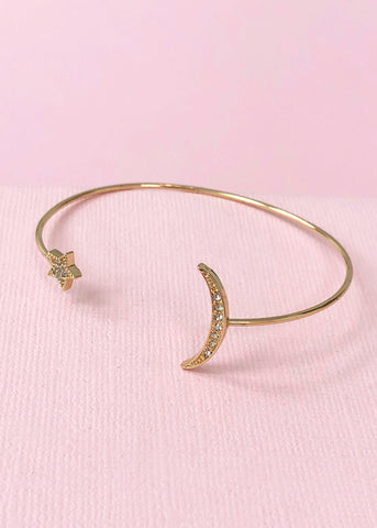 Moon & the Stars Bangle