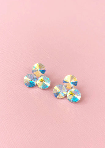 Stardust Swarovski Stud Earrings