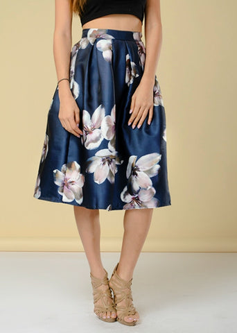 Blue Catalina Skirt