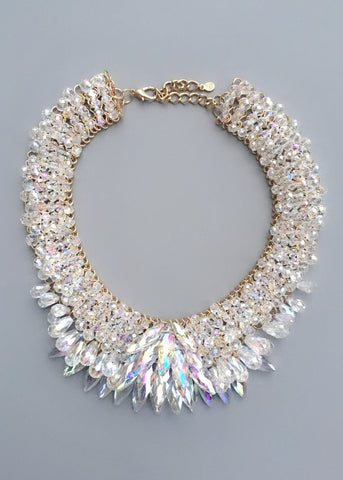 Icelandic Crystal Statement Necklace