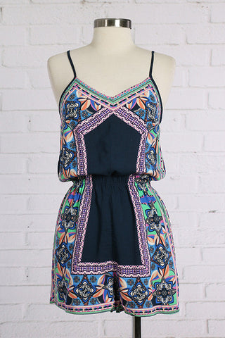 Blueberry Fields Romper
