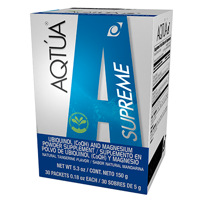 Actua - Improve Your Cardiovascular System With Ubiquinol Coenzyme (CoQ10)