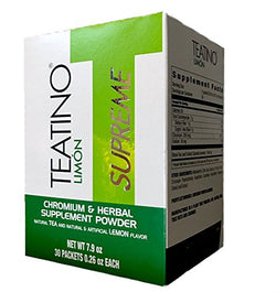 Teatino Supreme Limon - Drink Tea and Lose The Weight