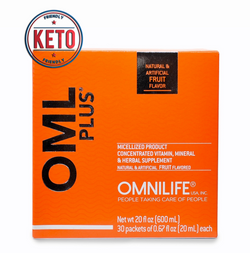 OMLPlus Supreme- Now KETO Friendly With Monk Fruit Sweetener