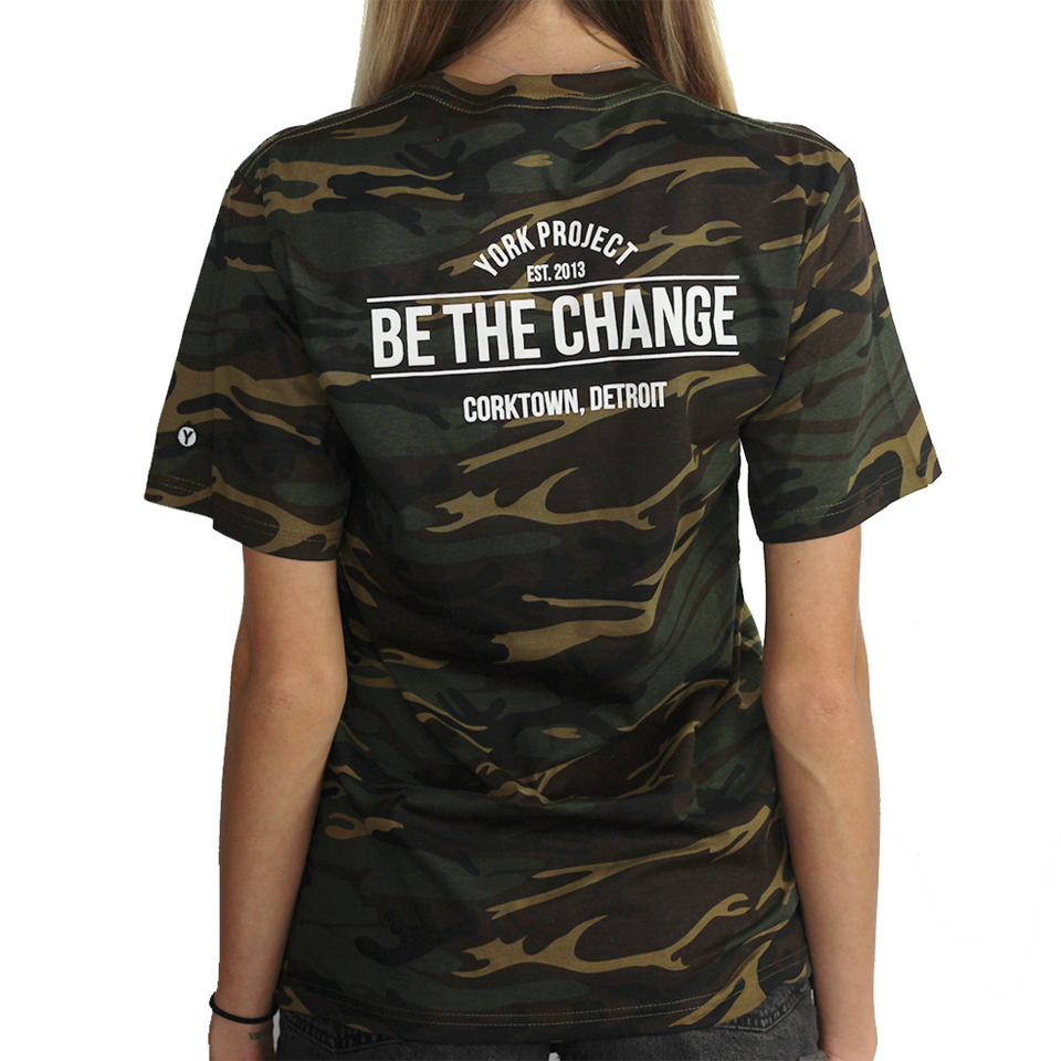 Be the Change Camo Tee
