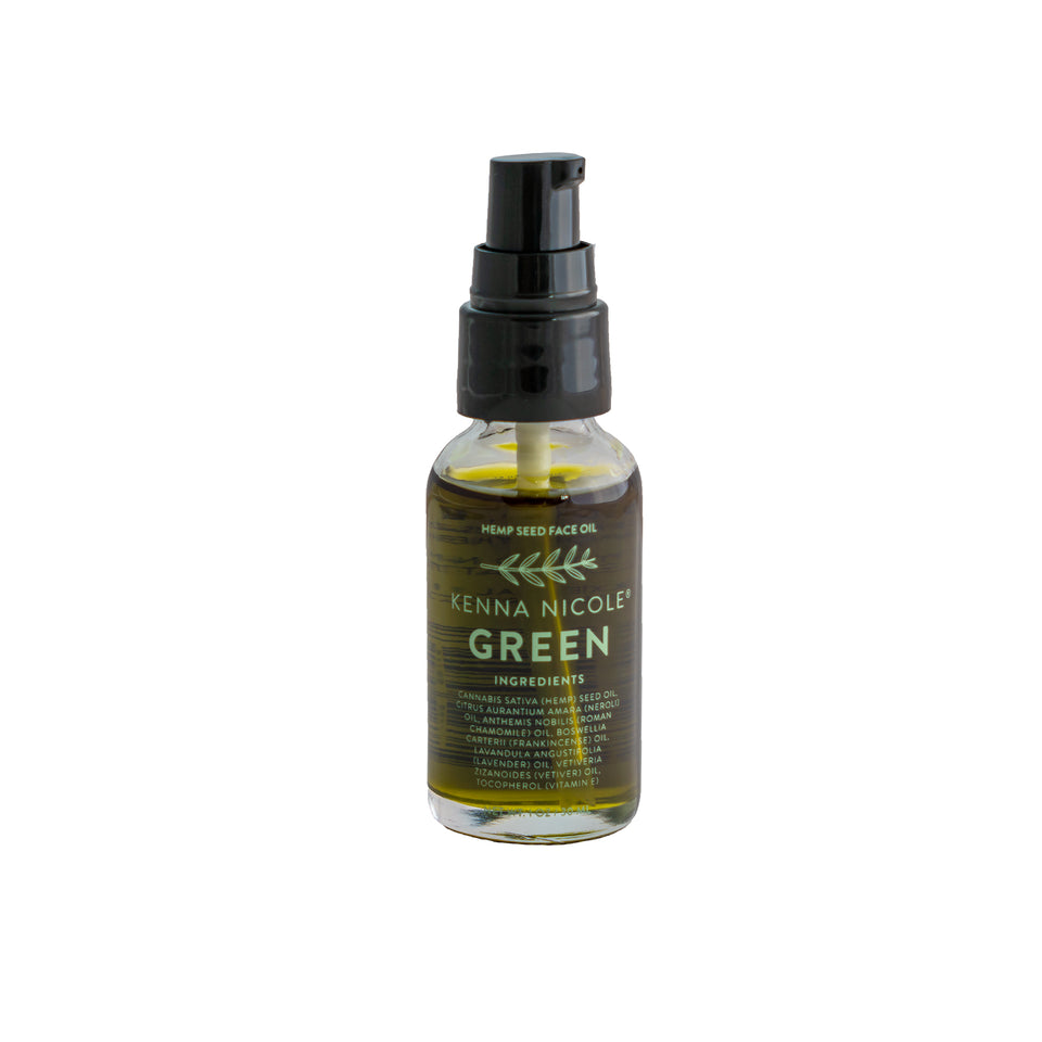 GREEN Hemp Seed Face Oil