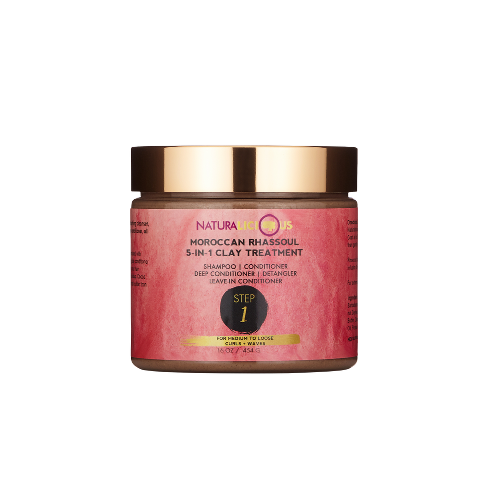 Moroccan Rhassoul 5-in-1 Clay Treatment