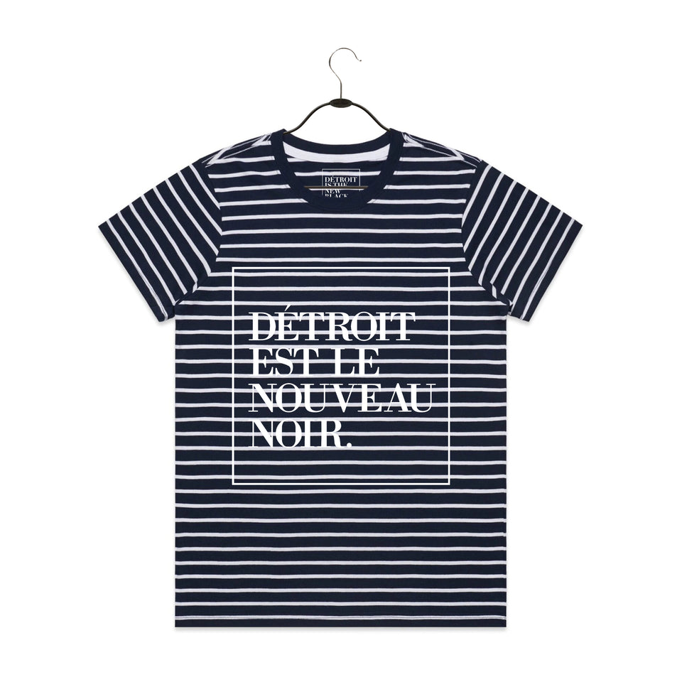 French Woodward Stripe Tee