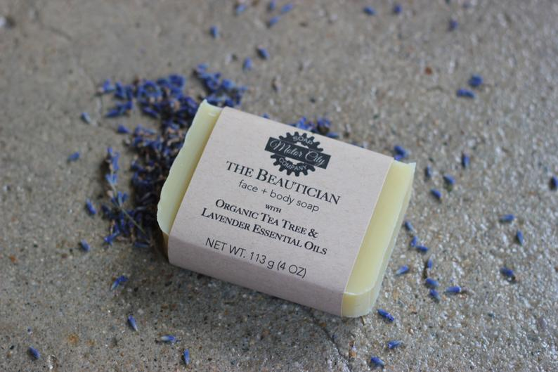 Tea Tree + Lavender Soap