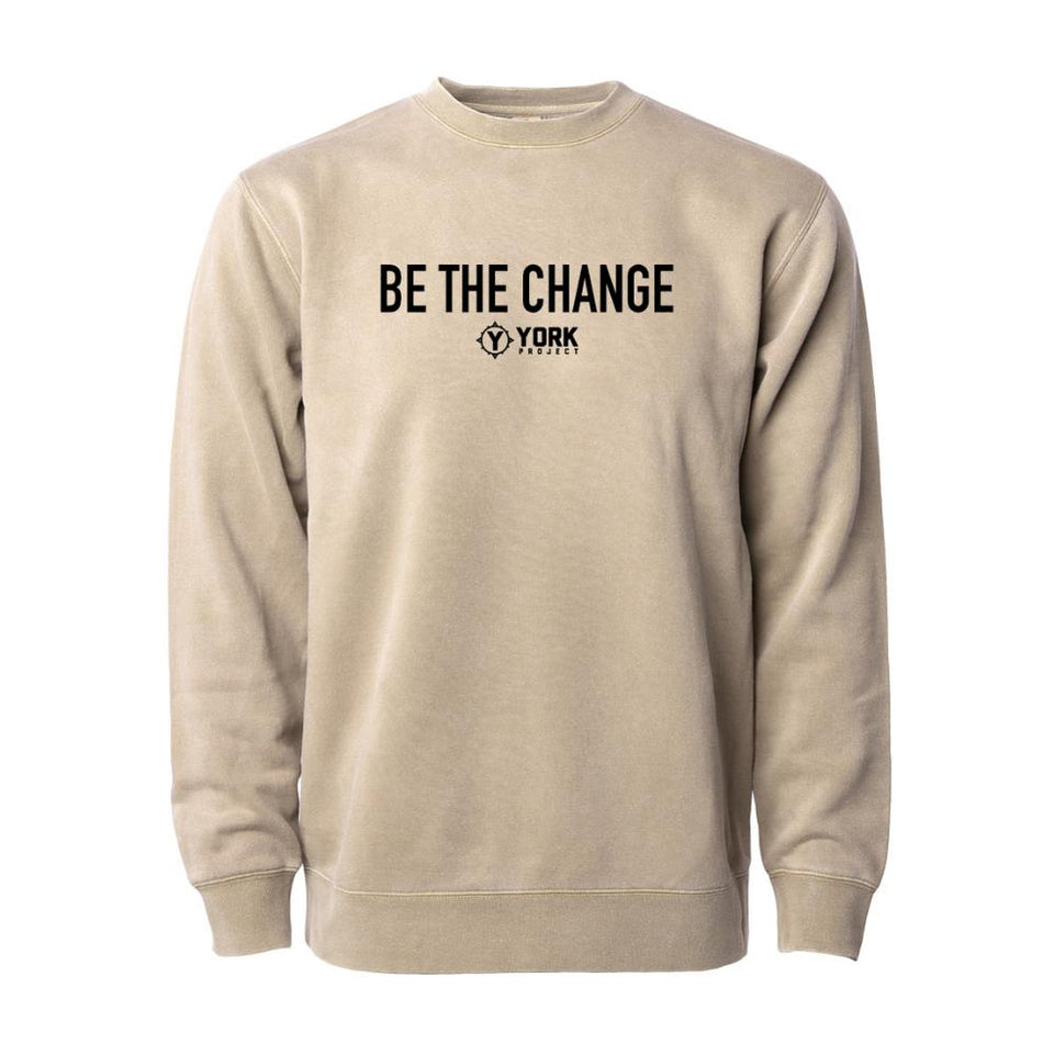Vintage Be The Change Crewneck