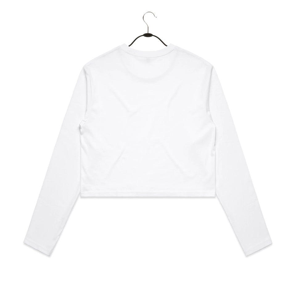 Woodward Cropped Long Sleeve Tee