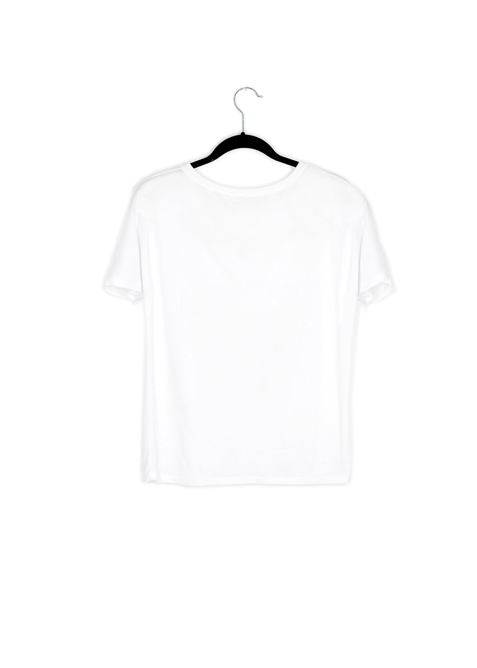French Woodward V Neck Tee