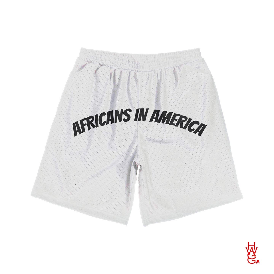 Africans in America Shorts - Large Print