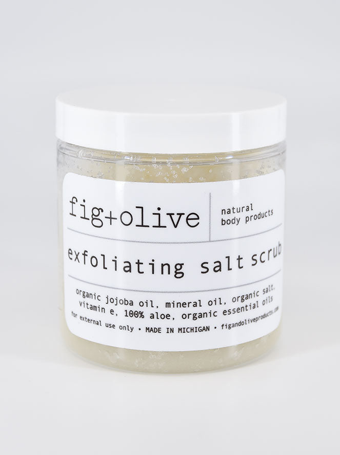 Facial + Body Salt Scrub, 8oz