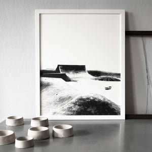 Concrete Landscape I – screen print