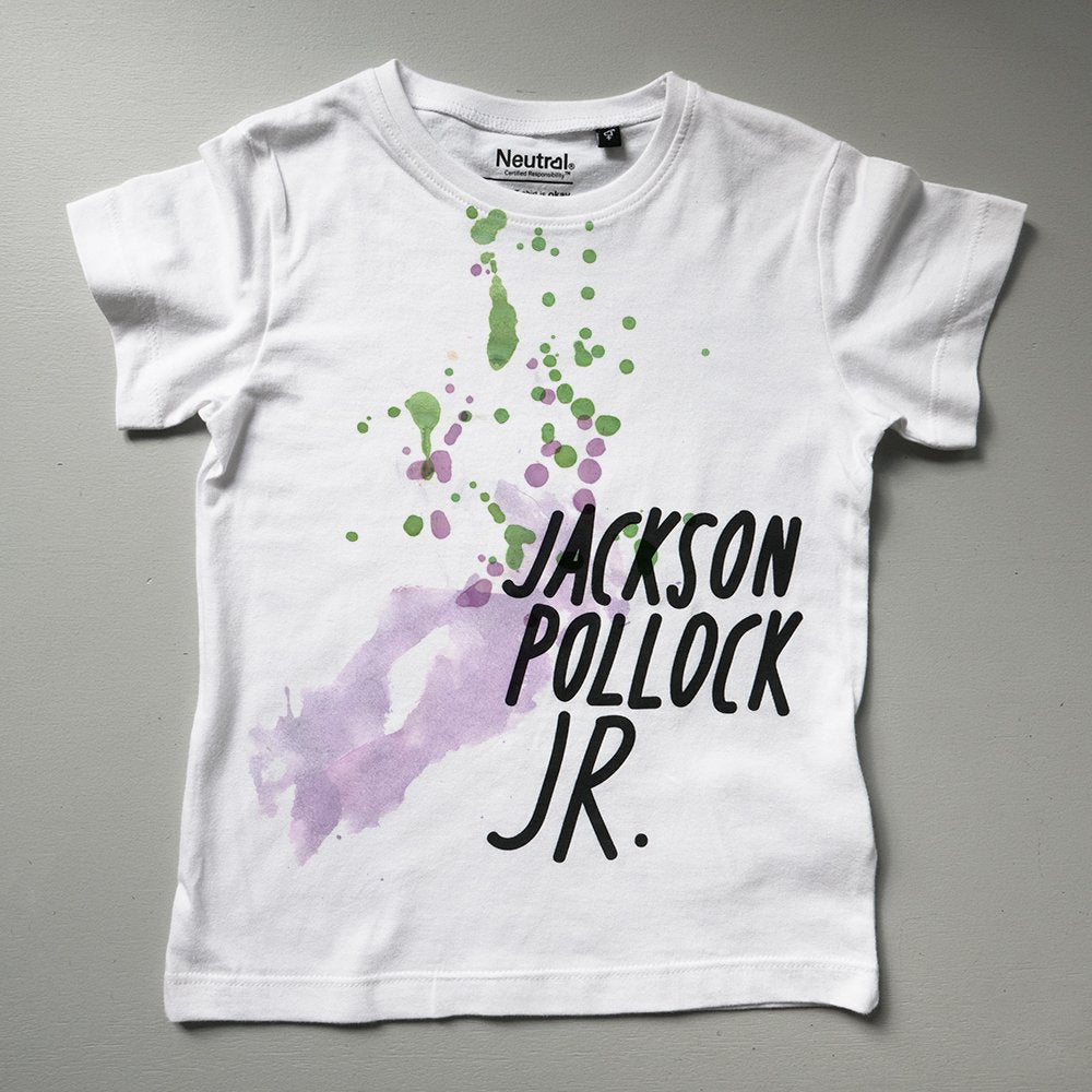 Jackson Pollock Jr – kids t-shirt