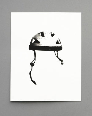 Helmet - screen print