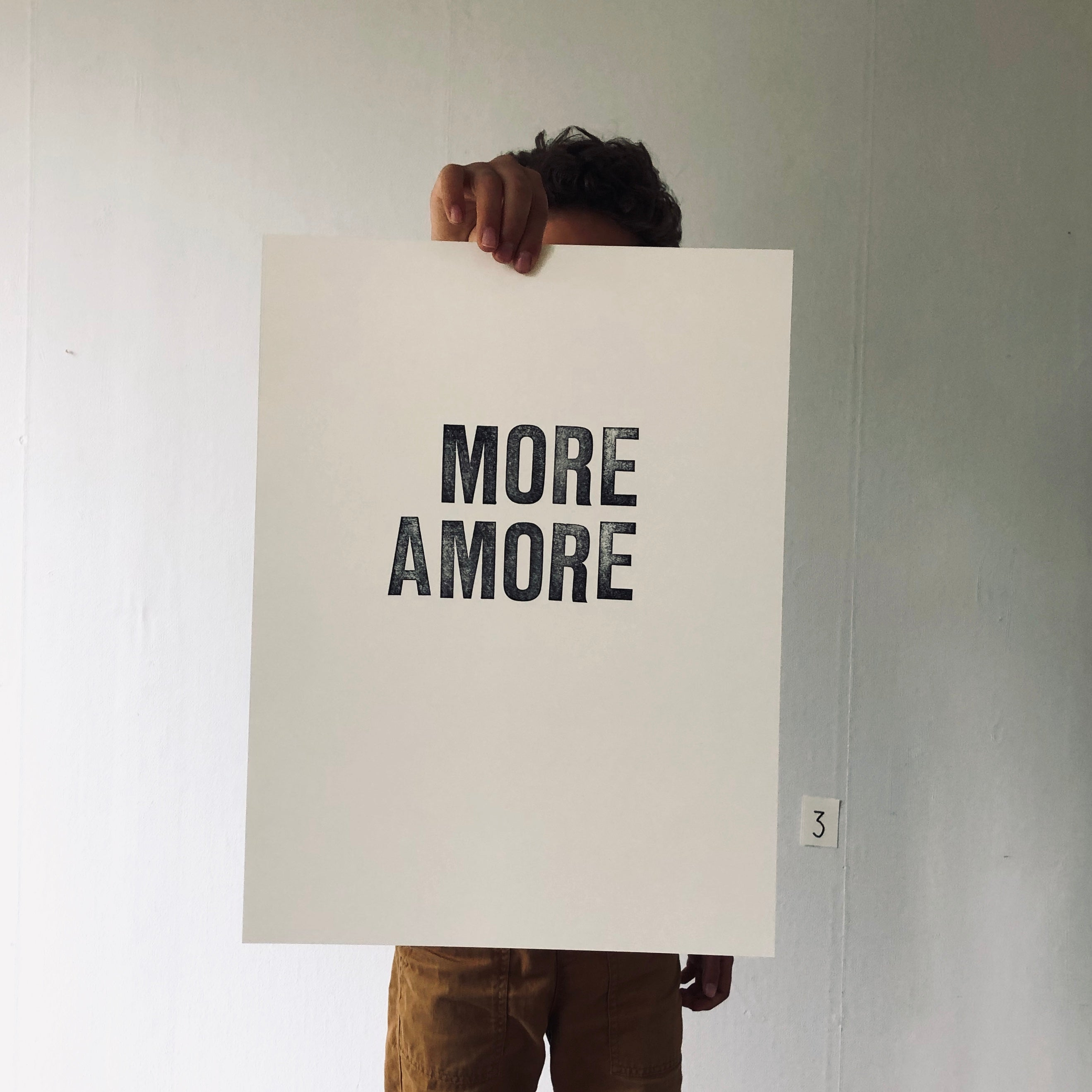 More amore – blockprint
