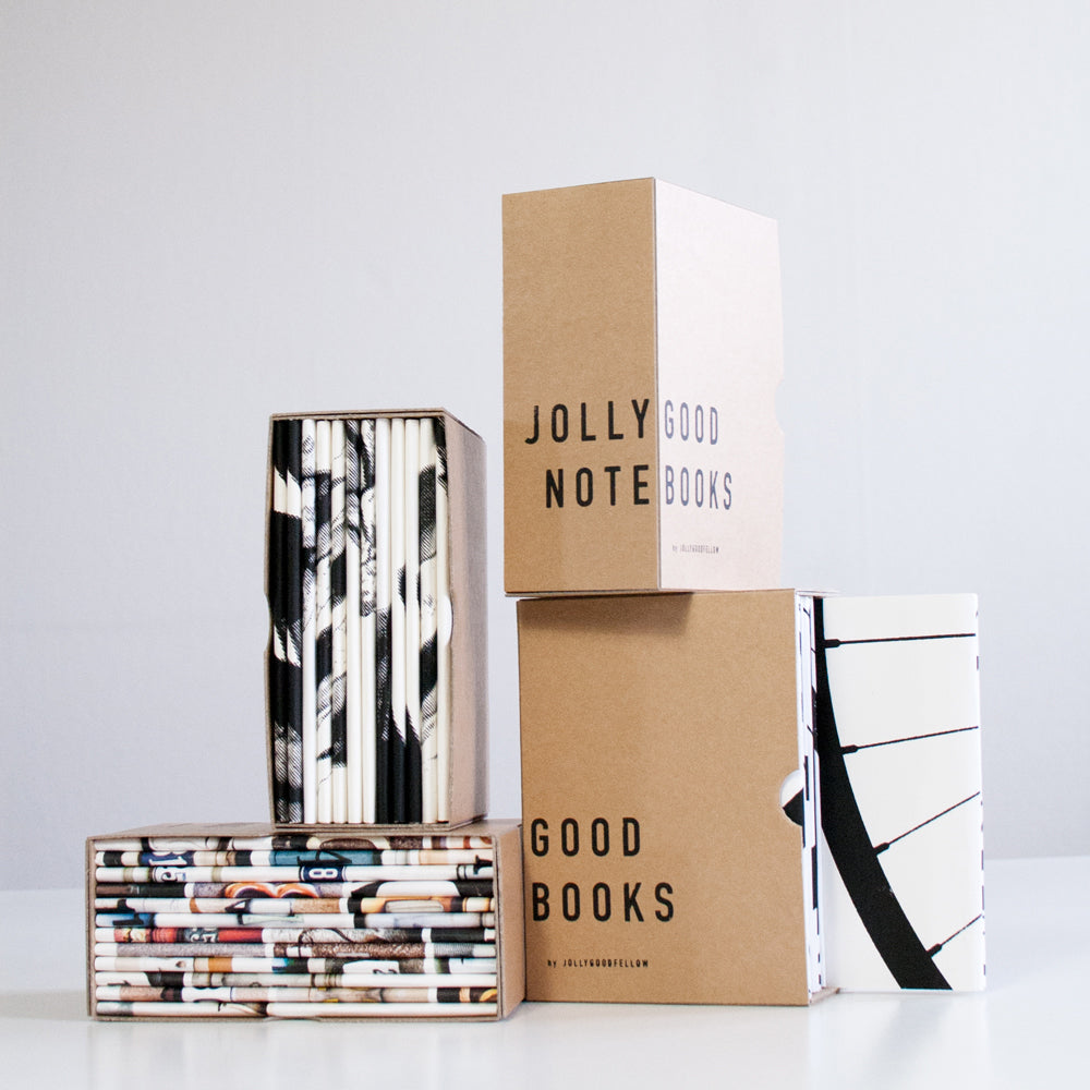 Jollygood Notebooks - Box, pack of 10