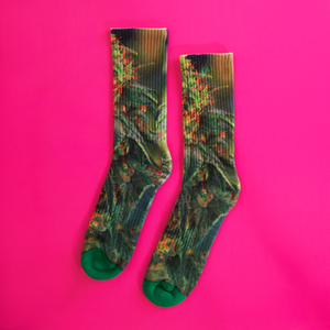 Green Dream Dope Socks