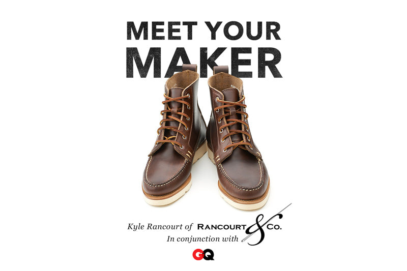 bda8b8cb75c Come join us this weekend at our shops and get to meet one of the fine men  in a new era of American shoe making. Born into a three generation  tradition of ...
