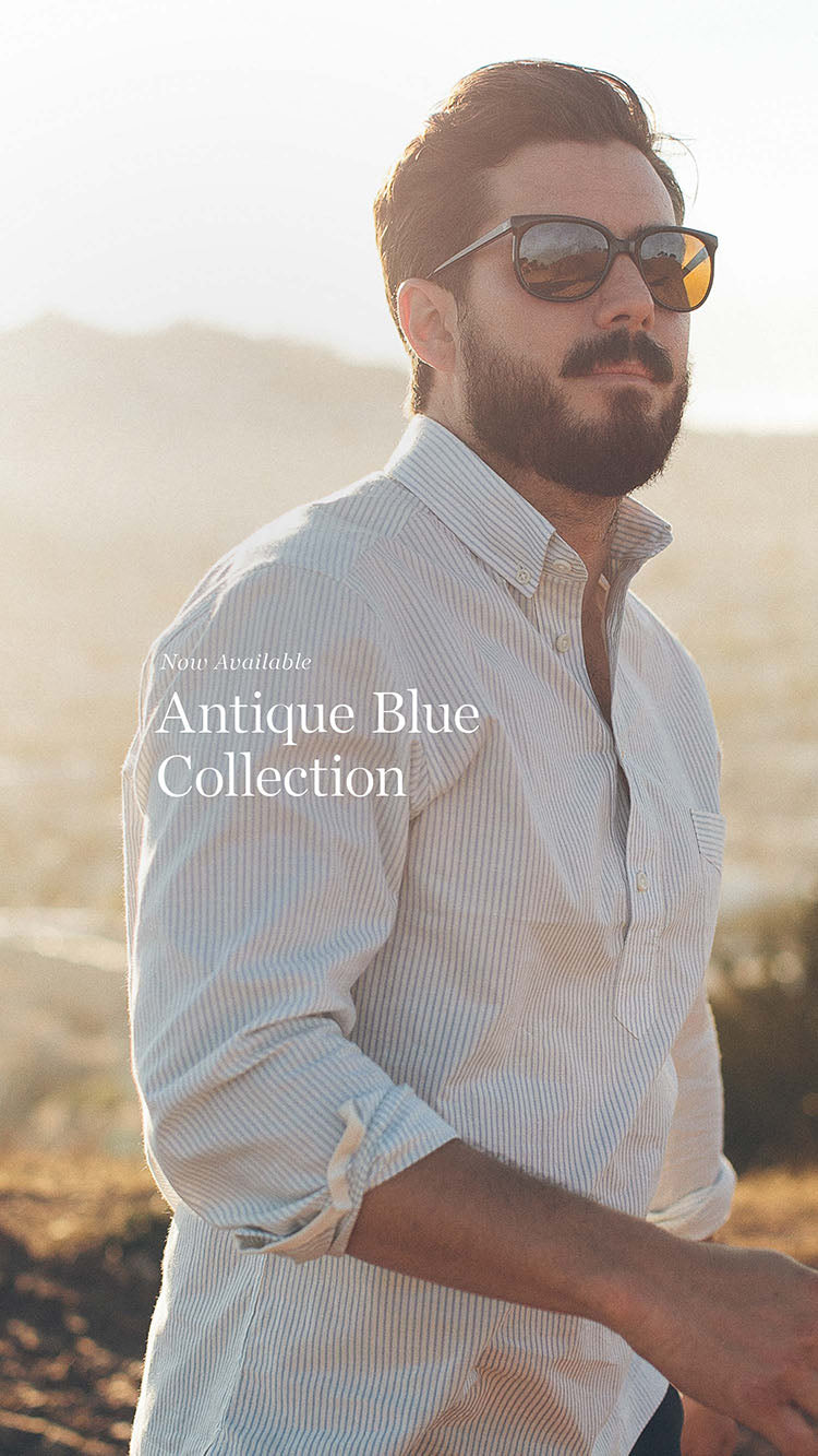 Antique Blue Collection