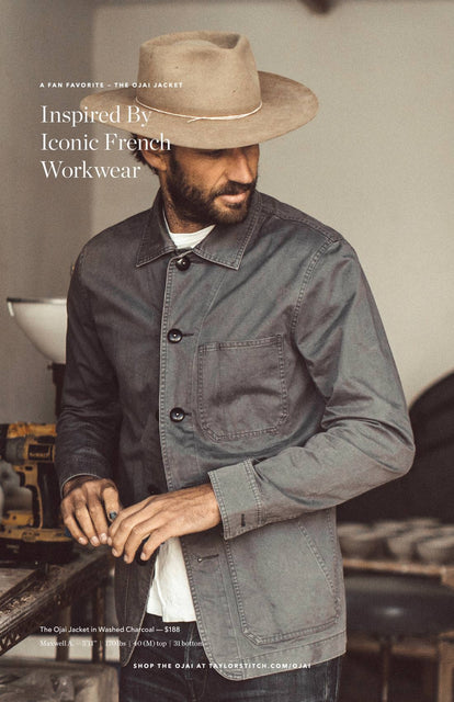 Inspired By Iconic French Workwear