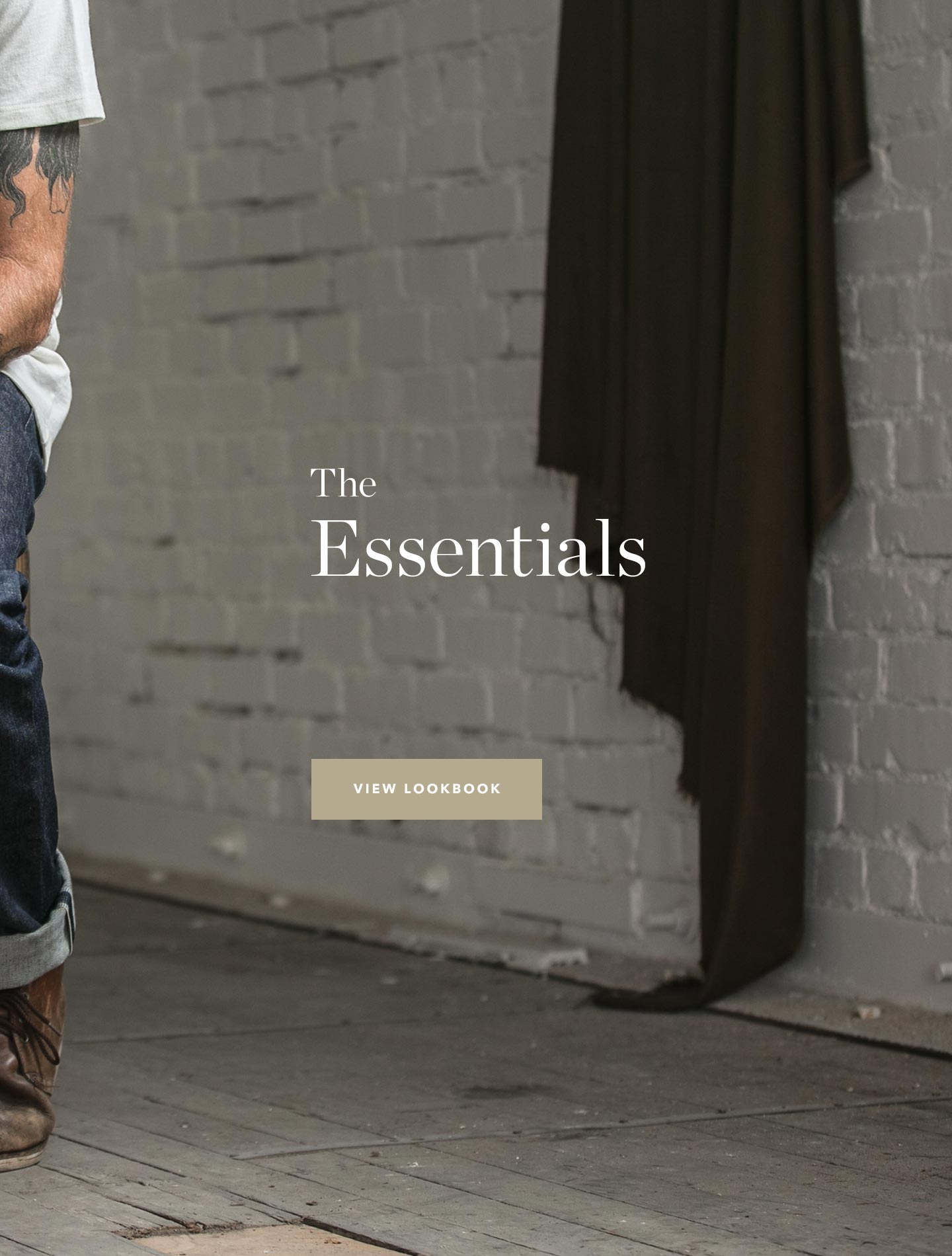 "The title, ""The Essentials'"
