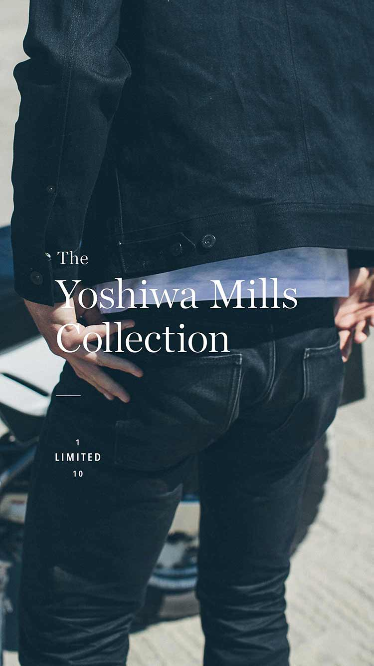 Black Selvage Denim Collection