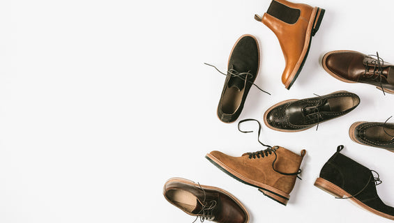 Assorted Taylor Stitch footwear