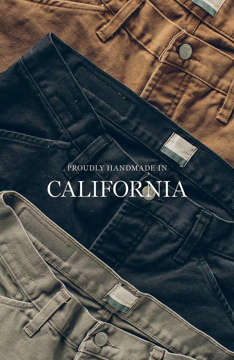 The Chore Pant in Washed Coal