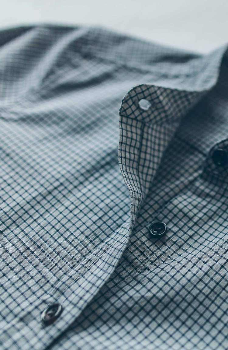 The Piper Shirt in Grey Check