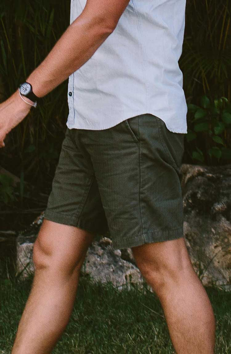 The Camp Short in Olive