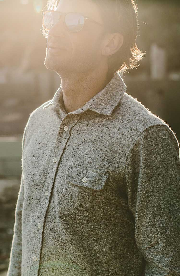 The Sundown Shirt in Grey