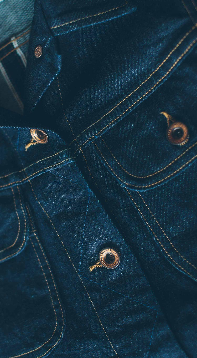 The Pacific Jacket in Cone Mills Stretch Selvage