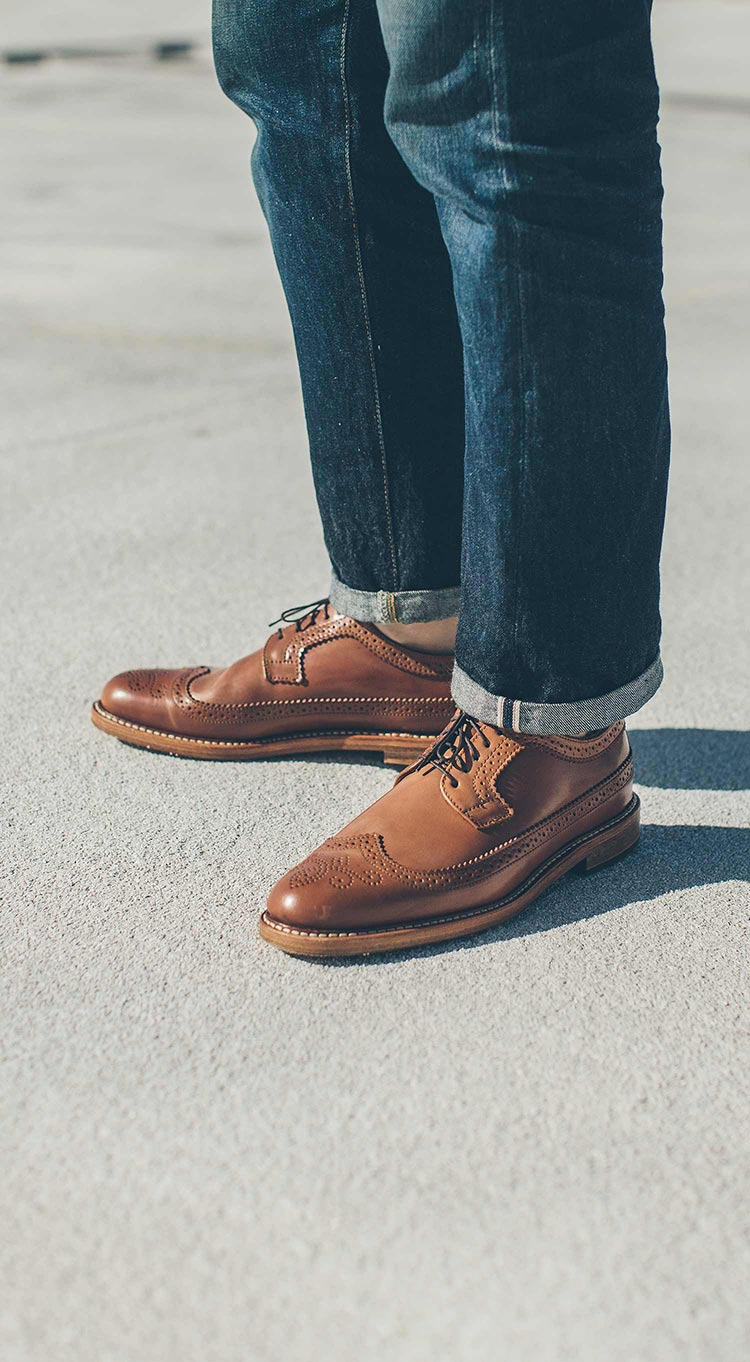 The Longwing in Natural Shell Cordovan