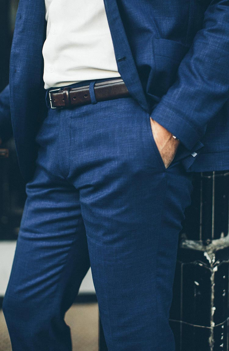 The Telegraph Trouser in Indigo