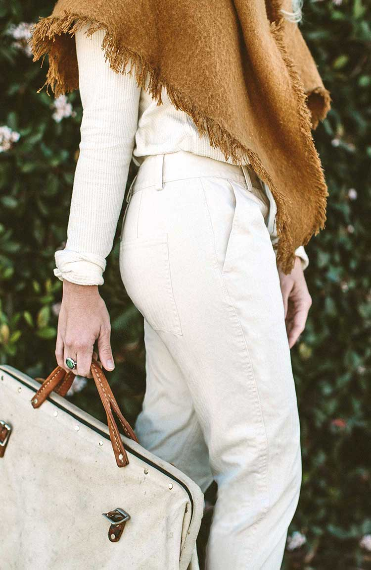 The Abel Pant in Natural