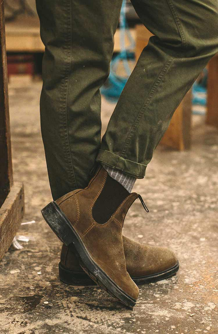 The Abel Pant in Army