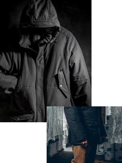 The Sierra Parka - Built to keep you warm in the coldest and harshest of conditions.