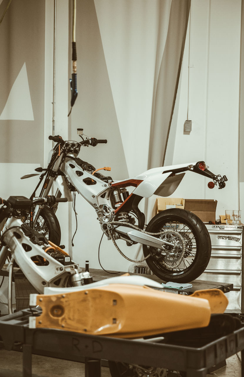 Alta Motors & Taylor Stitch All Electric Moto