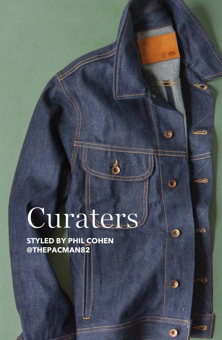 Curators | Styled by Phil Cohen @thepacman82