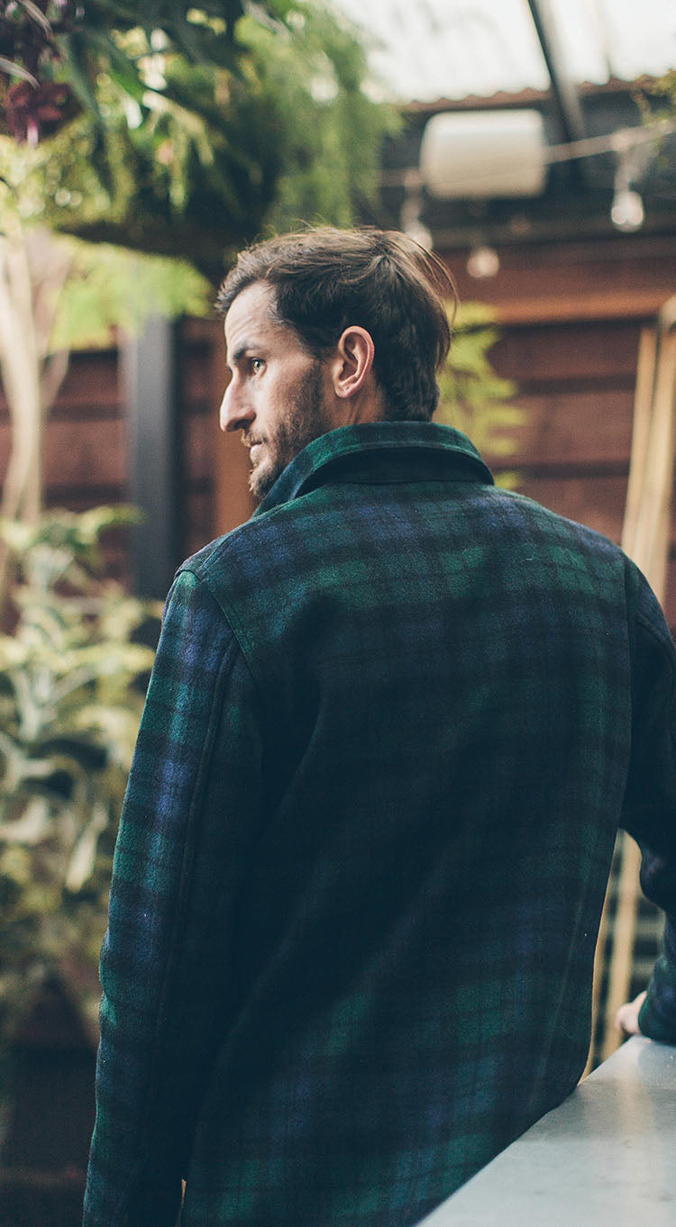 The Project Jacket in Pendleton Blackwatch Wool