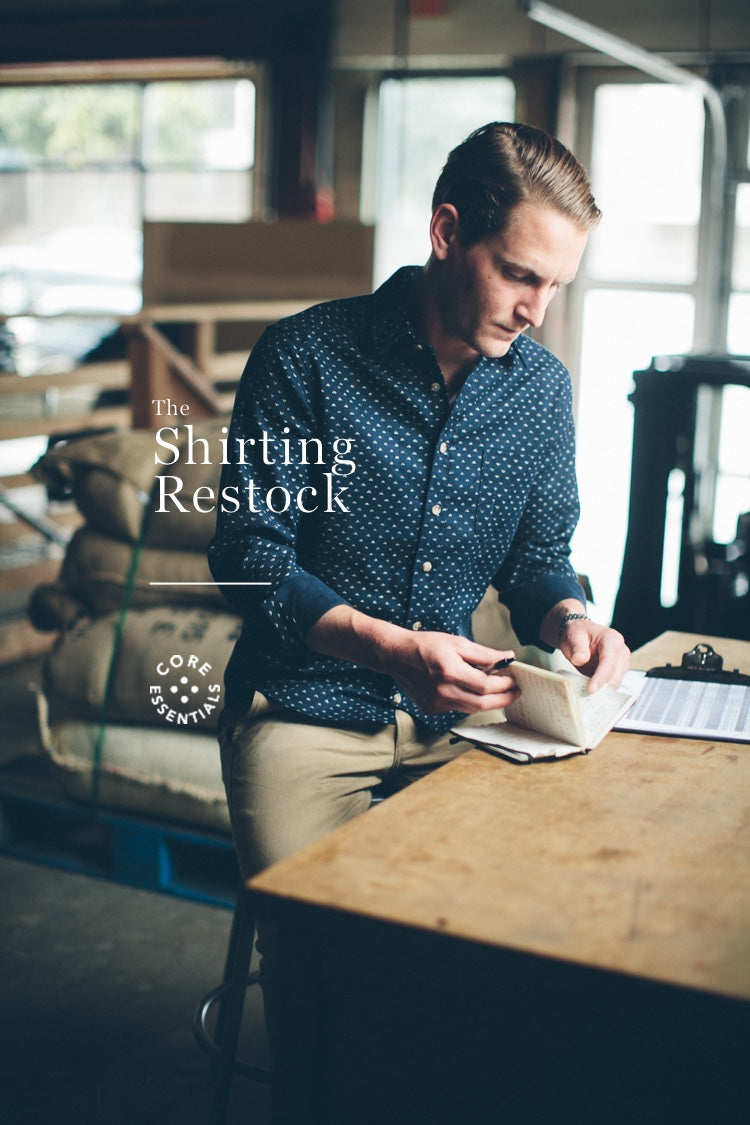 The Shirting Restock - Spring