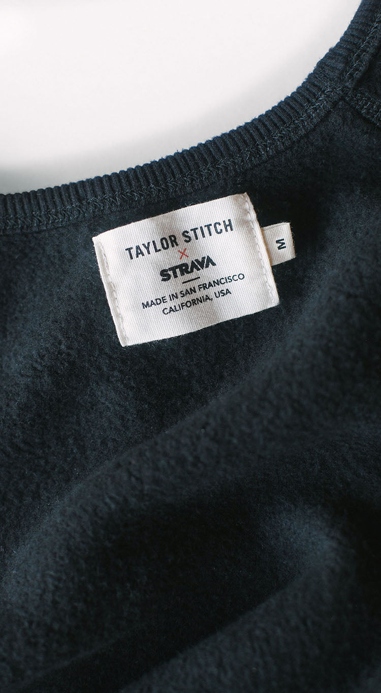 Taylor Stitch x Strava - The Après Collection