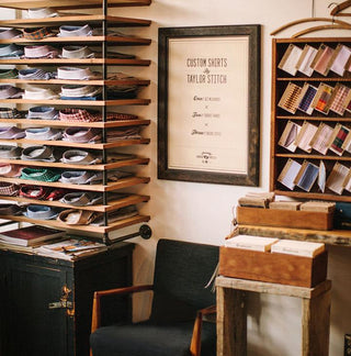 The details of our flagship San Francisco store.